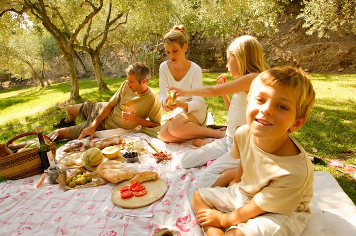 Provence Printemps Famille