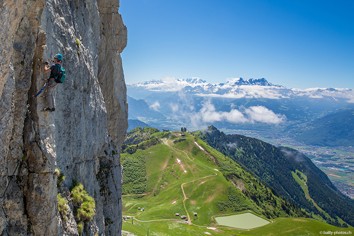 Suisse Canton Vaud Escalade