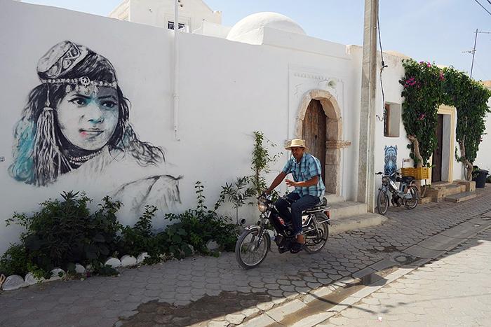Tunisie Er Riadh Street Art