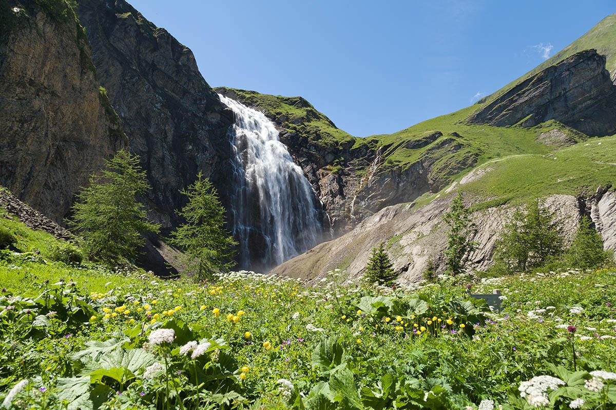 Adelboden Cascade