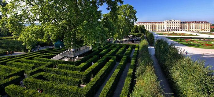 Schonbrunn Labyrinthe