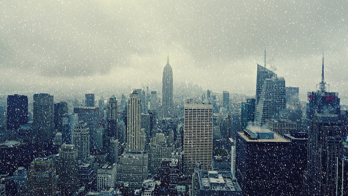 new york noel neige