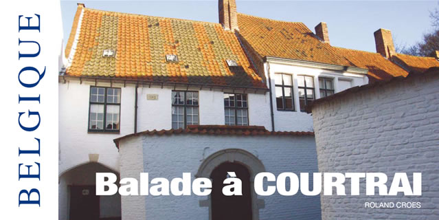 Belgique balade courtrai for Courtrai belgium