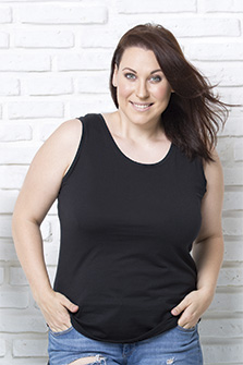 Curves Tank Top - CURVSTOP