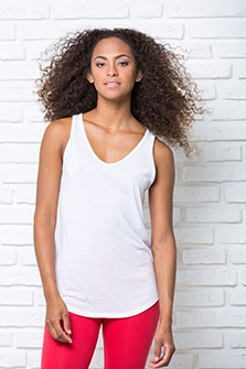 Subli V-neck Top - SBTSLPICO