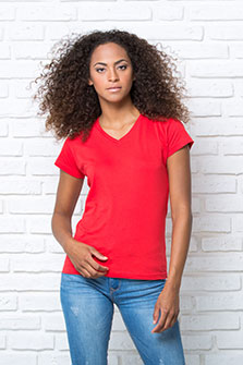 Regular Lady Comfort V-Neck - TSRLCMFP