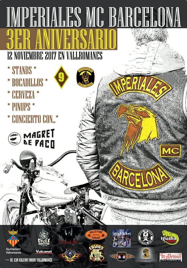 III aniversario imperiales mc barcelona