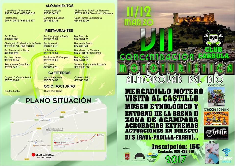 CONCENTRACIONES MOTERAS CLUB CUSTOM