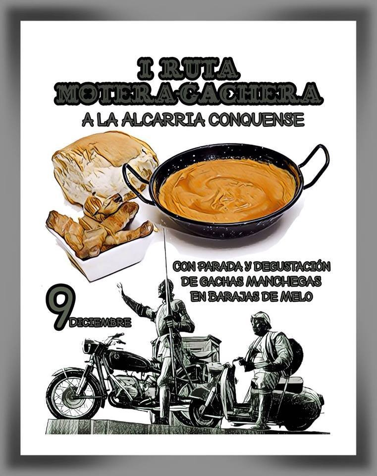 I RUTA MOTERA-GACHERA A LA ALCARRIA CONQUENSE