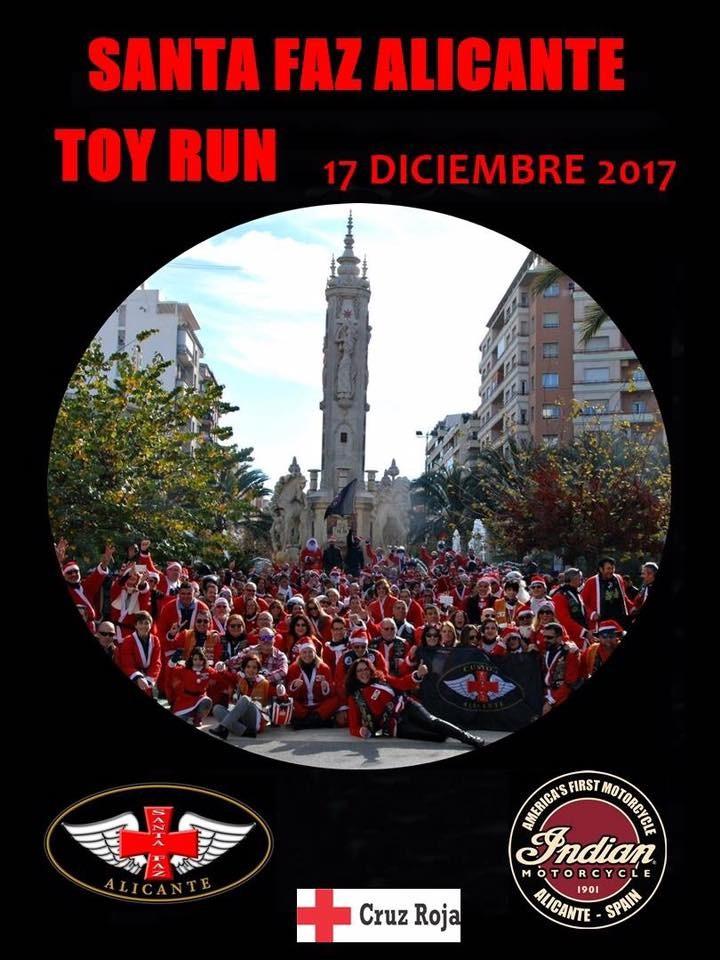 TOY RUN SANTA FAZ ALICANTE   17  DE DICIEMBRE DE 2017