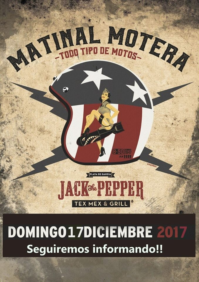 MATINAL MOTERA JACK THE PEPPER