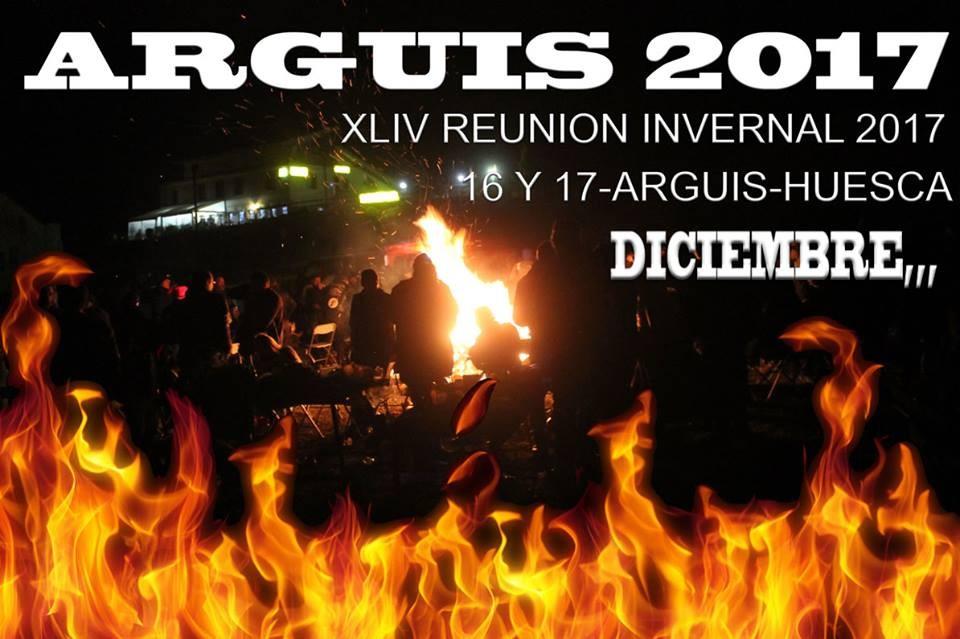 XLIV REUNION INVERNAL  16 Y 17 DE DICIEMBRE DE 2017  EN ARGUIS- HUESCA