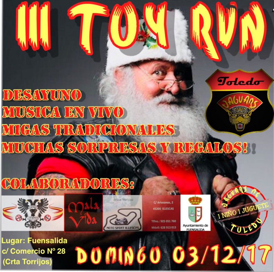 III TOY RUN JAGUARS MC TOLEDO