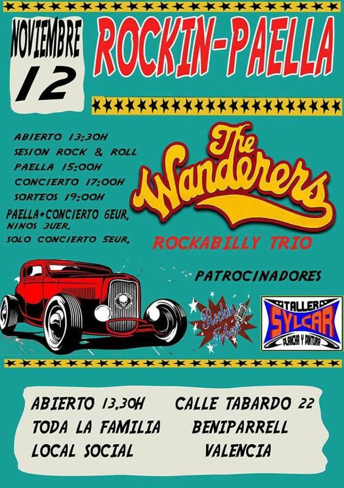 ROCKIN-PAELLA THE WANDERERS