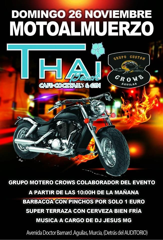 MOTOAMLMUERZO GRUPO CUSTOM CROWS