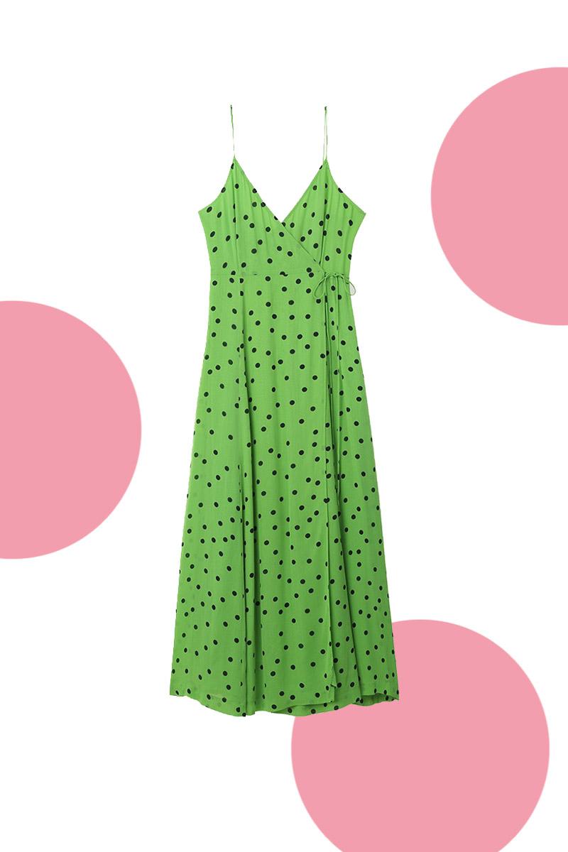 Fem coola och prickiga klänningar