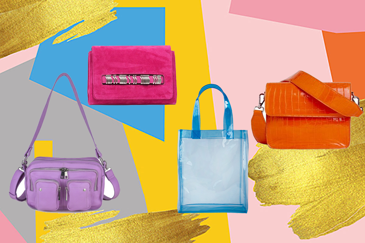 Färgstarka väskor