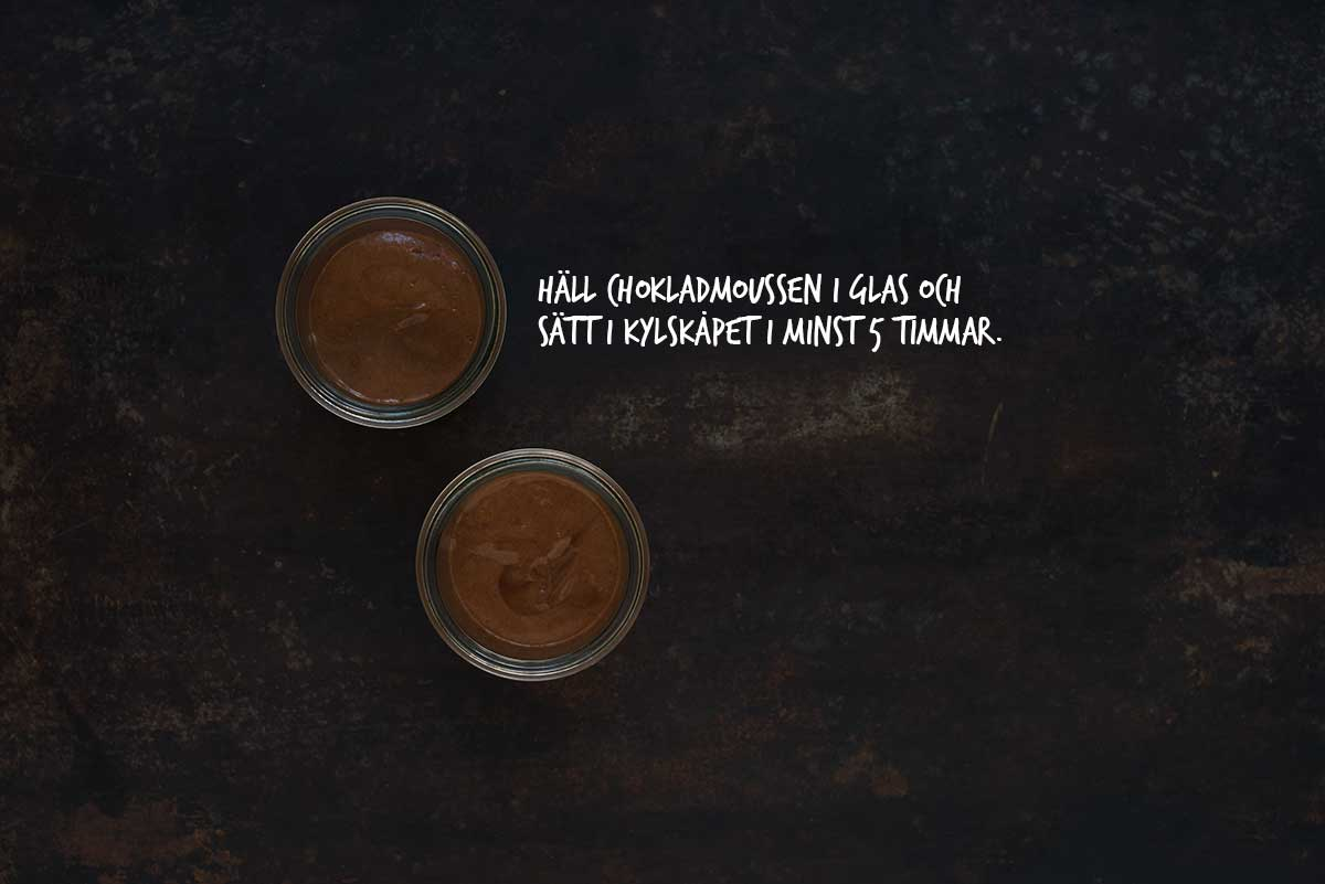 Recept: Chokladmousse | Frk. Kräsen