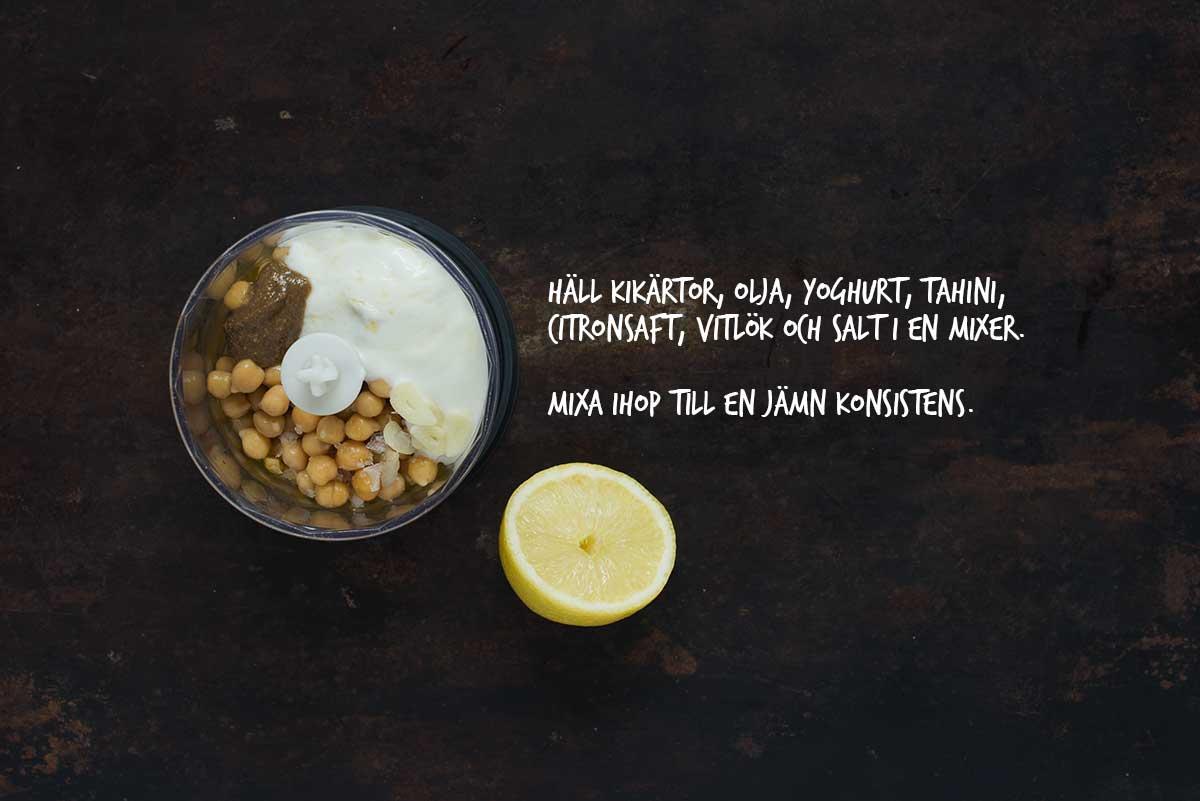 Recept: Hummus | Frk. Kräsen
