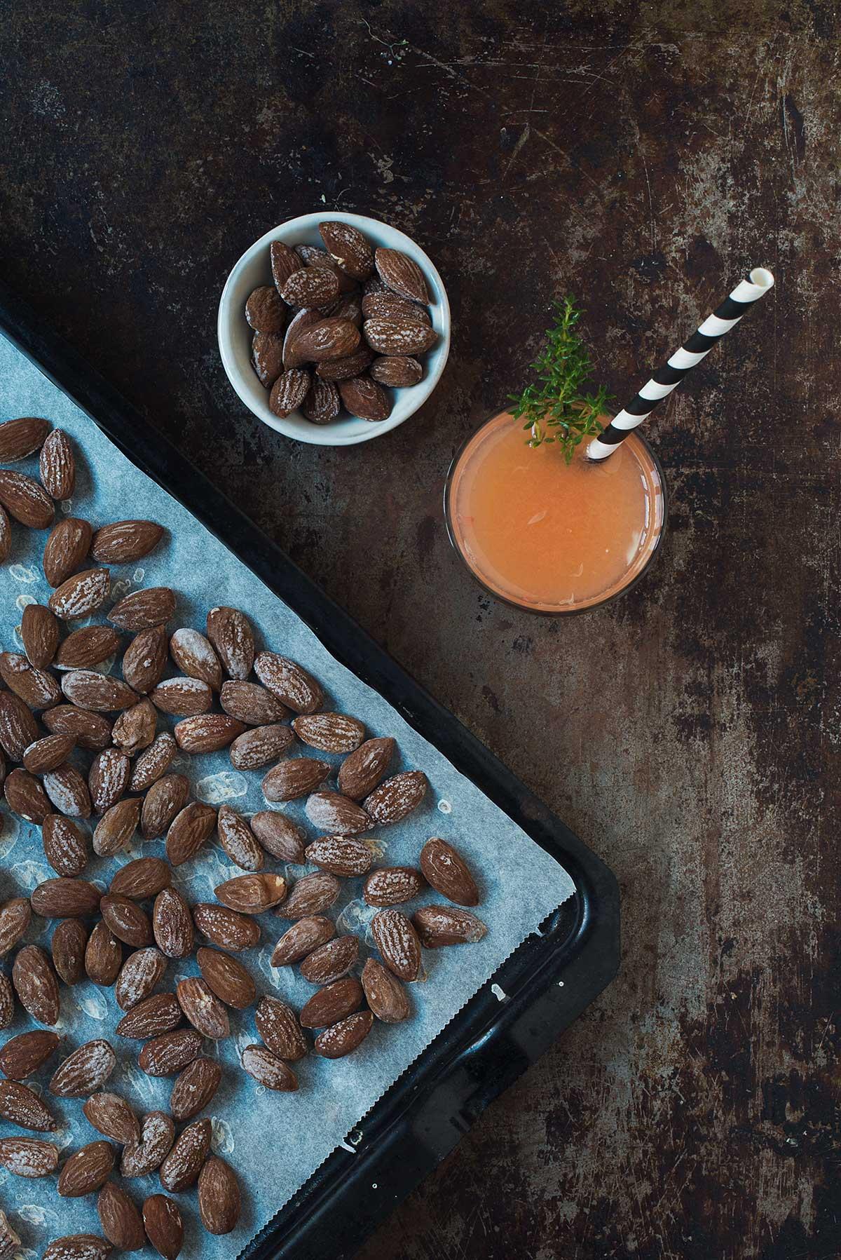 Recept: Salta mandlar | Frk. Kräsen