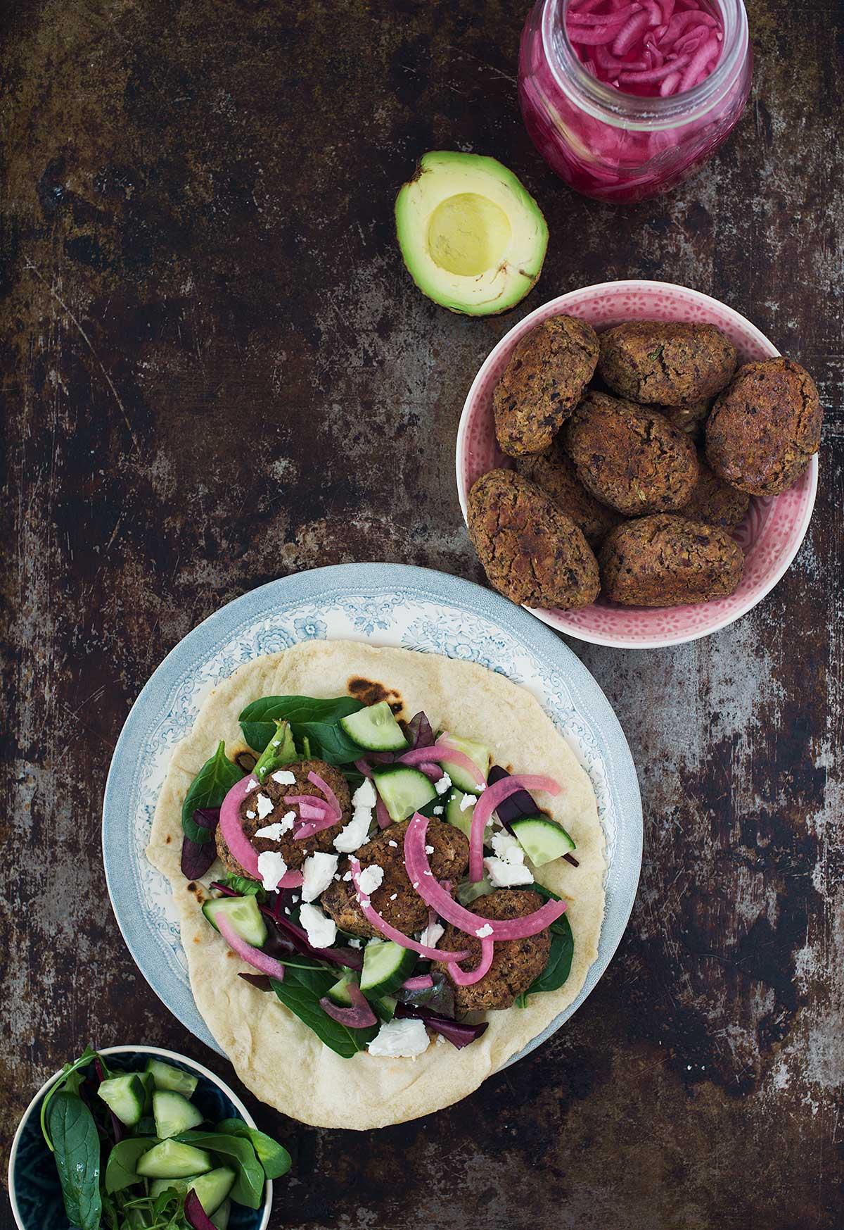 Recept: Hemmagjord falafel i ugn | Frk. Kräsen