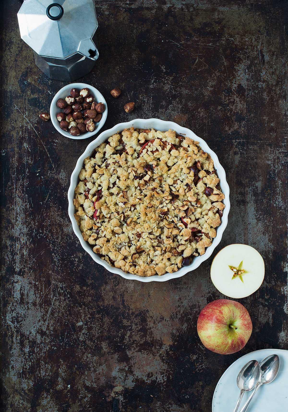 Recept: Smulpaj med äpple | Frk. Kräsen
