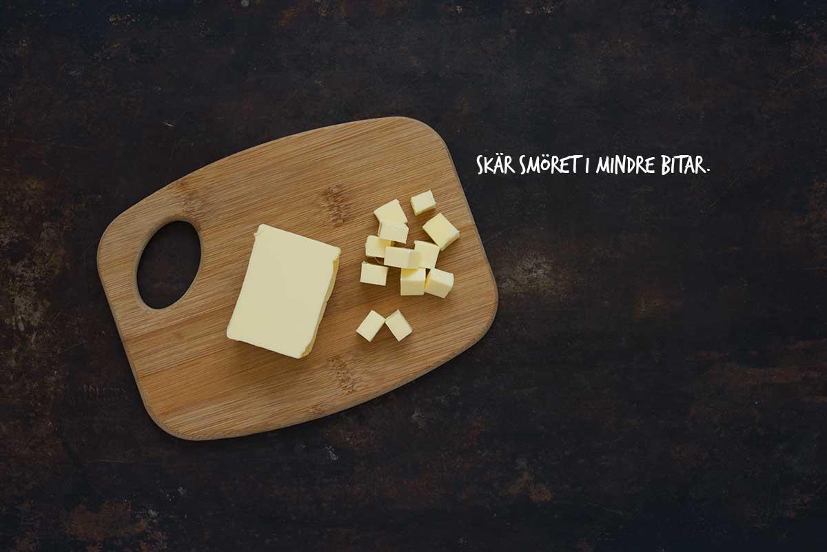 Recept: Smulpaj med rabarber | Frk. Kräsen