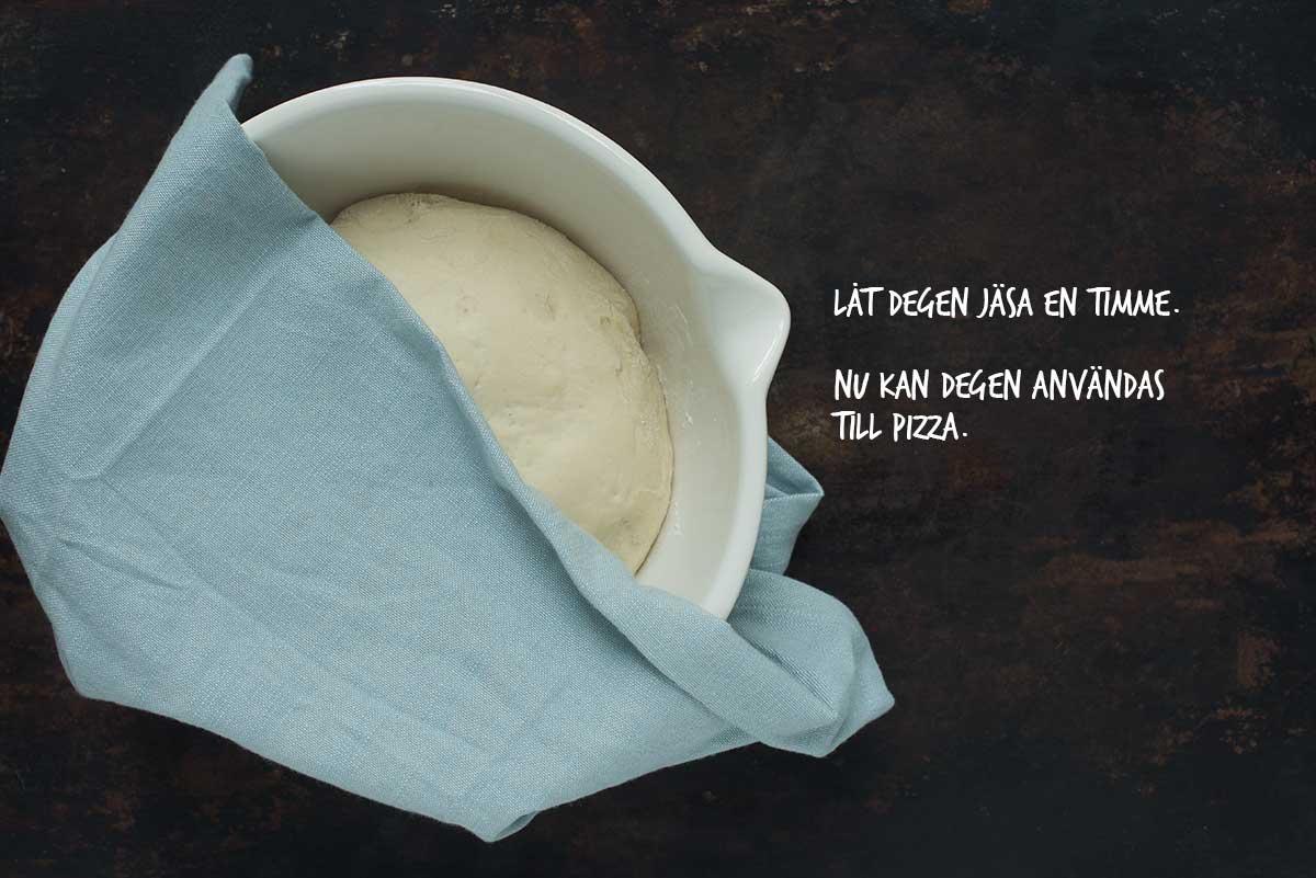 Recept: Pizzadeg | Frk. Kräsen