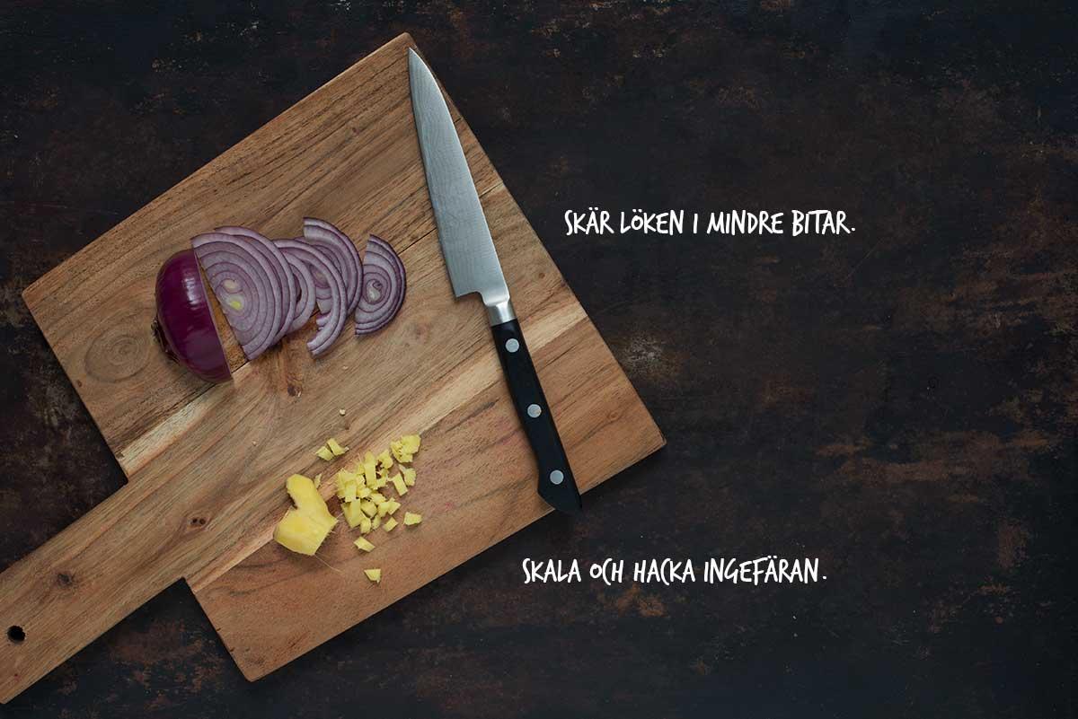 Recept: Picklad rödlök | Frk. Kräsen
