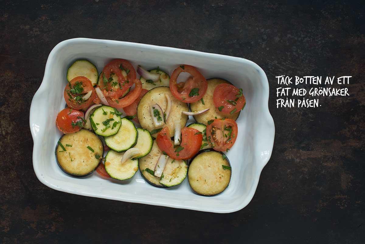 Recept: Vegetarisk lasagne | Frk. Kräsen