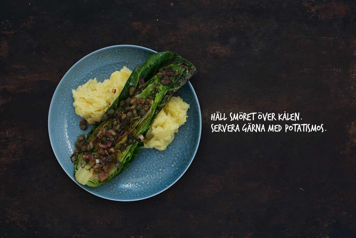 Recept: Stekt spetskål med brynt smör | Frk. Kräsen
