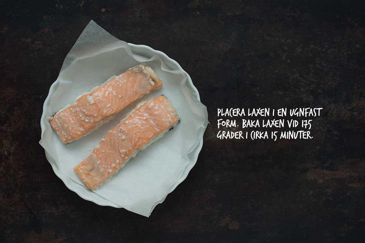 Recept: Pasta med lax och pesto | Frk. Kräsen