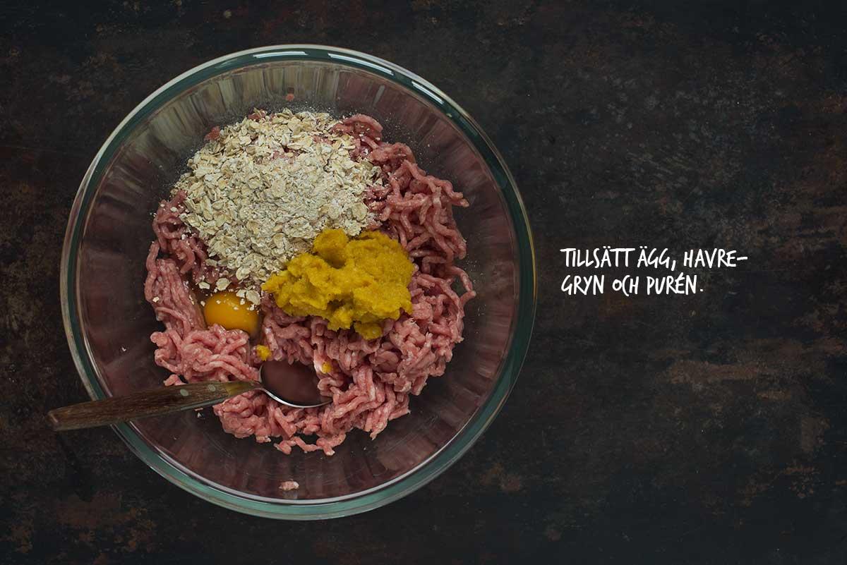 Recept: Danska köttbullar i currysås | Frk. Kräsen