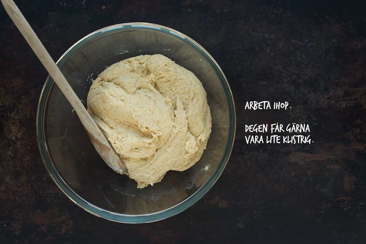 Recept: Kalljästa bullar med bönor | Frk. Kräsen