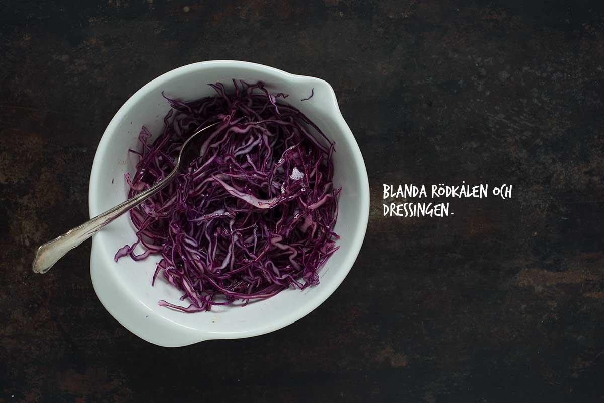 Recept: Råkostsallad med rödkål och morötter | Frk. Kräsen