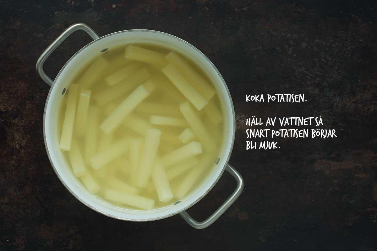 Recept: Pommes frites | Frk. Kräsen