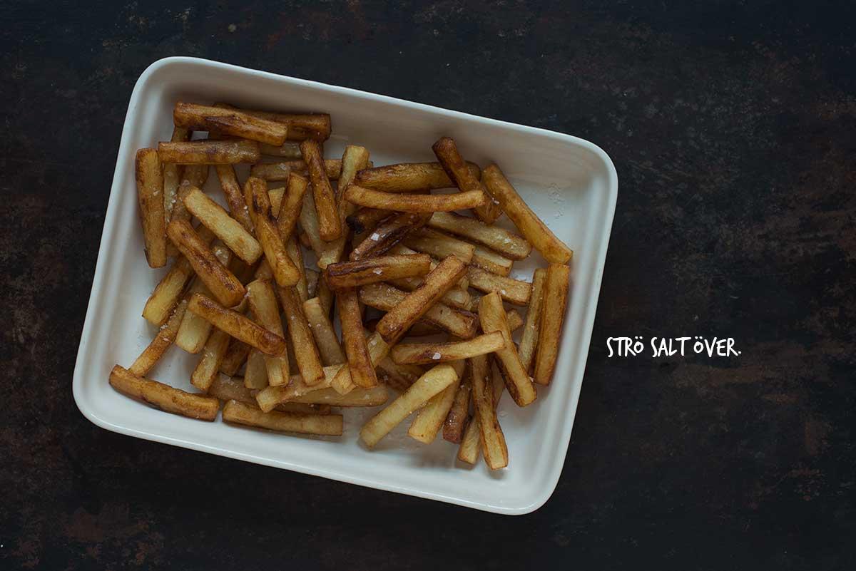 mcdonalds pommes frites recept