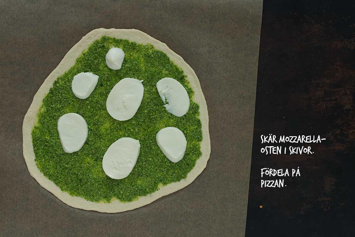 Recept: Pizza med kronärtskocka och spenat | Frk. Kräsen