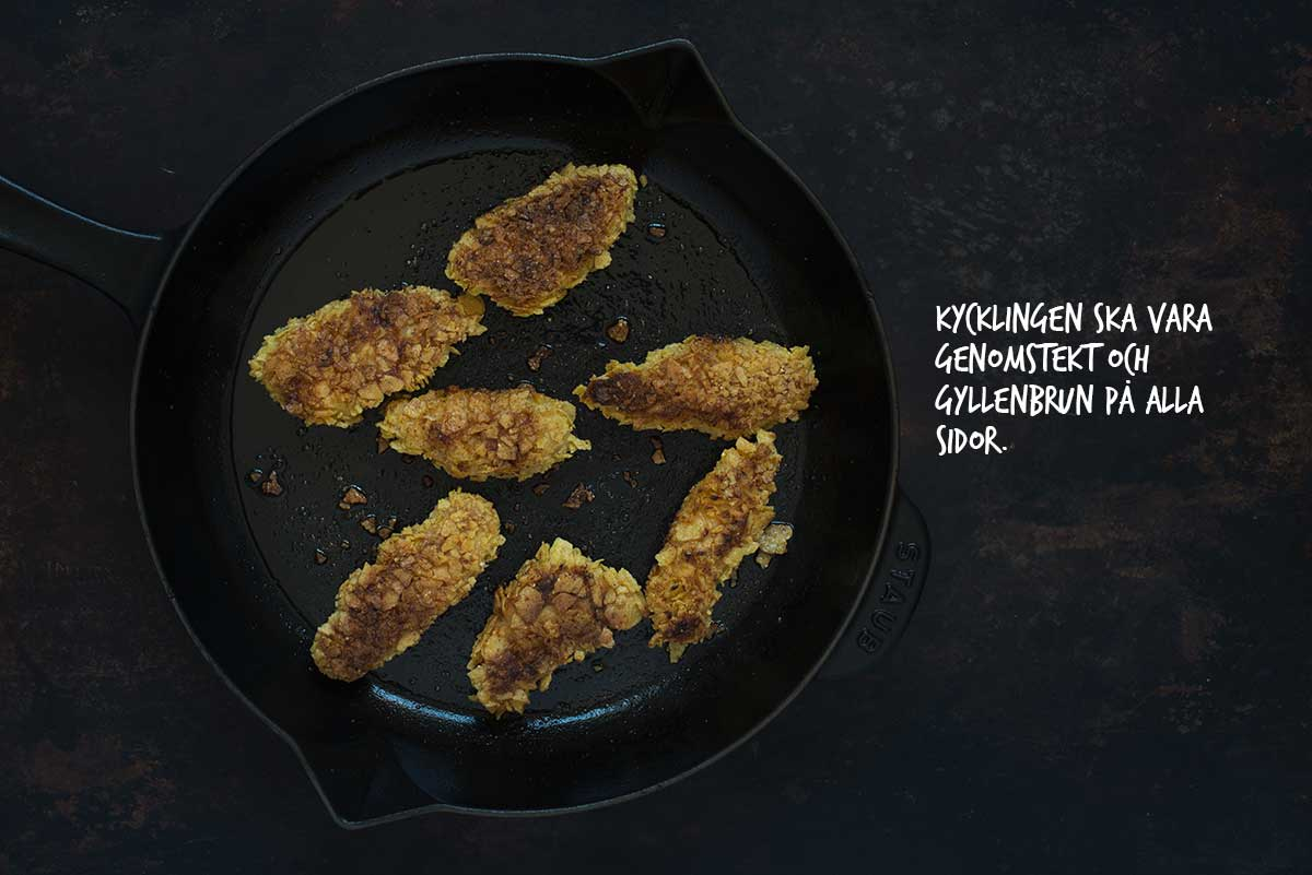 Recept: Chicken nuggets | Frk. Kräsen