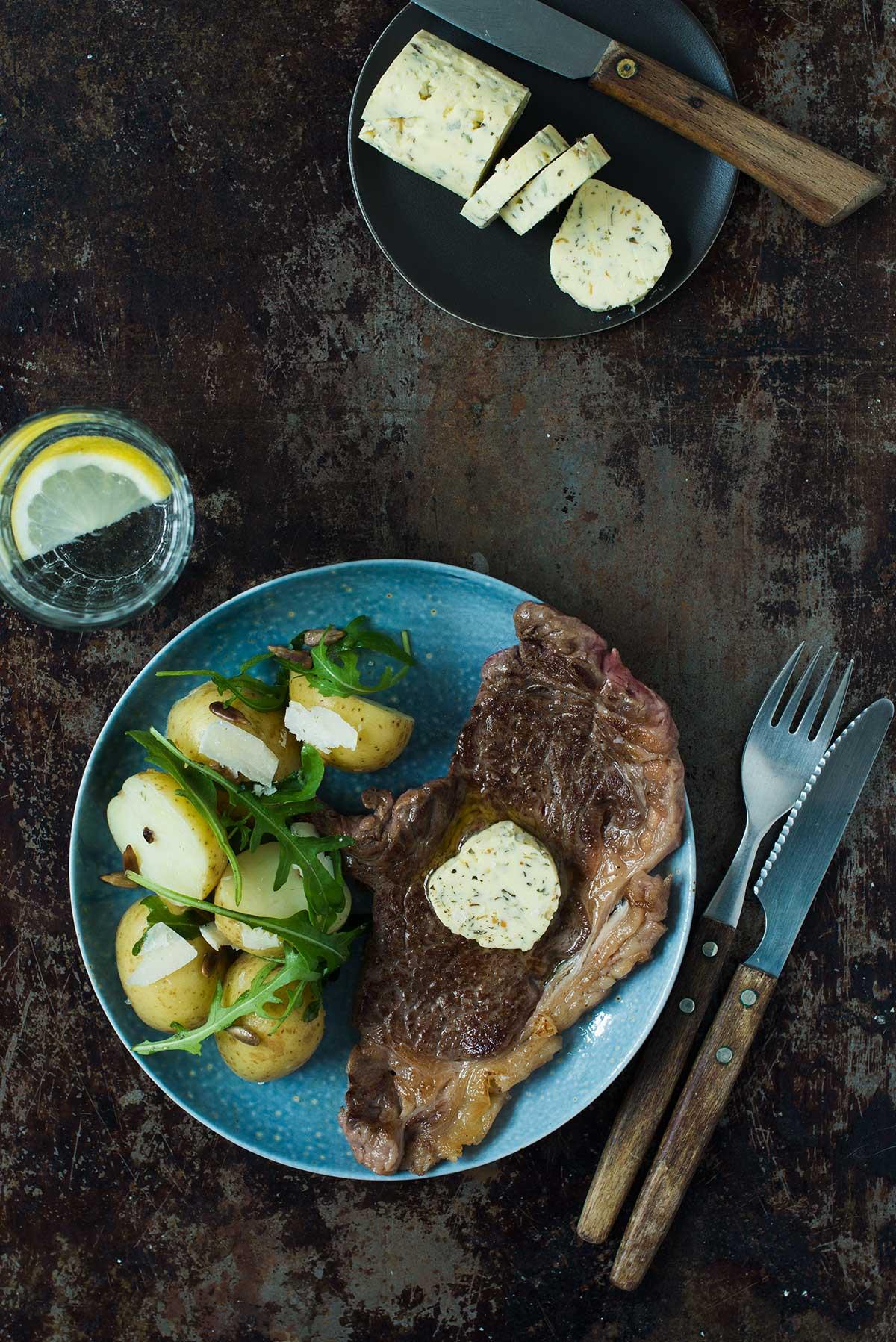 Recept: Kryddsmör med smak av bearnaise | Frk. Kräsen