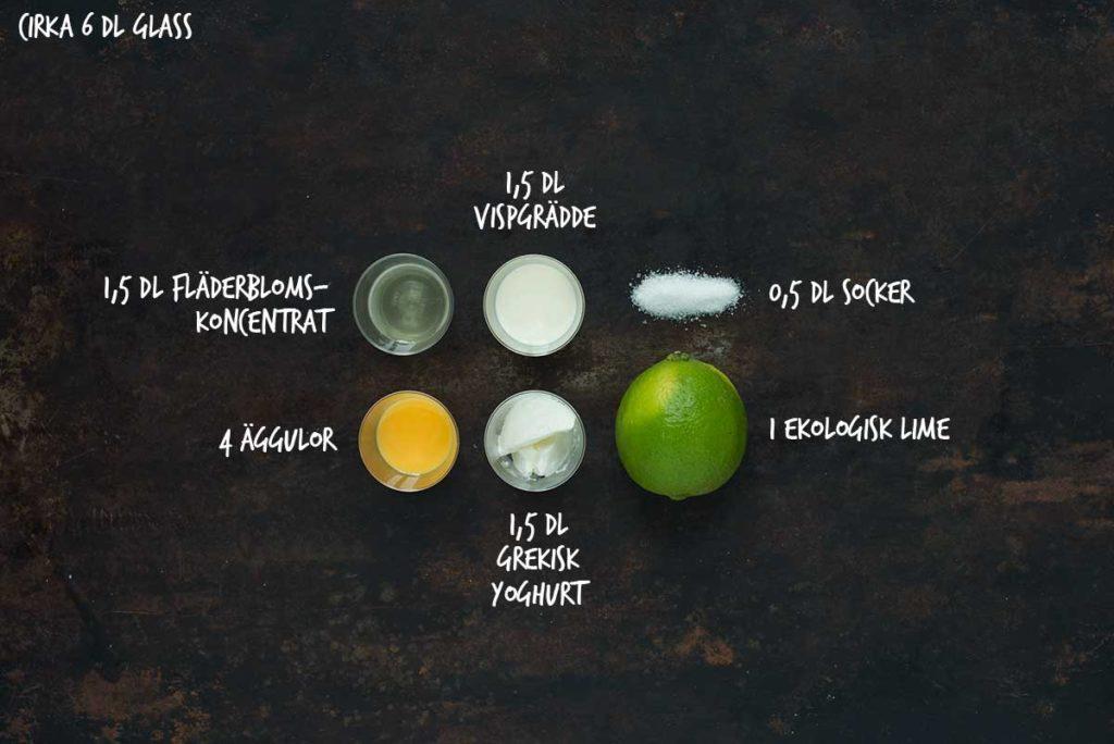 Recept: Fläderglass | Frk. Kräsen