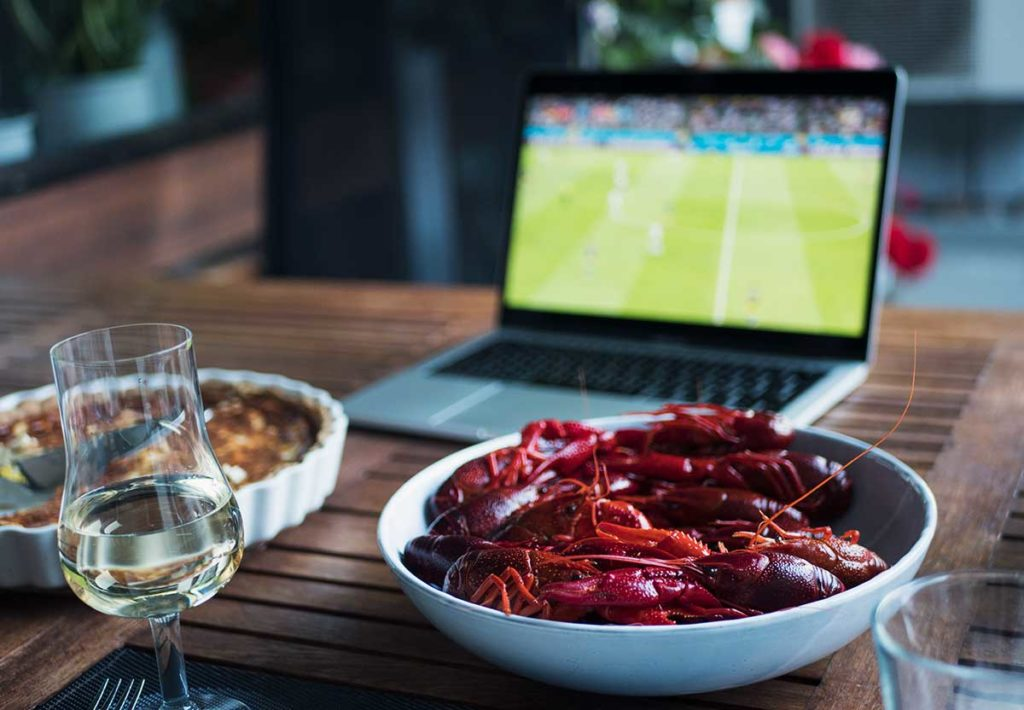 Kräftor och fotboll | Frk. Kräsen