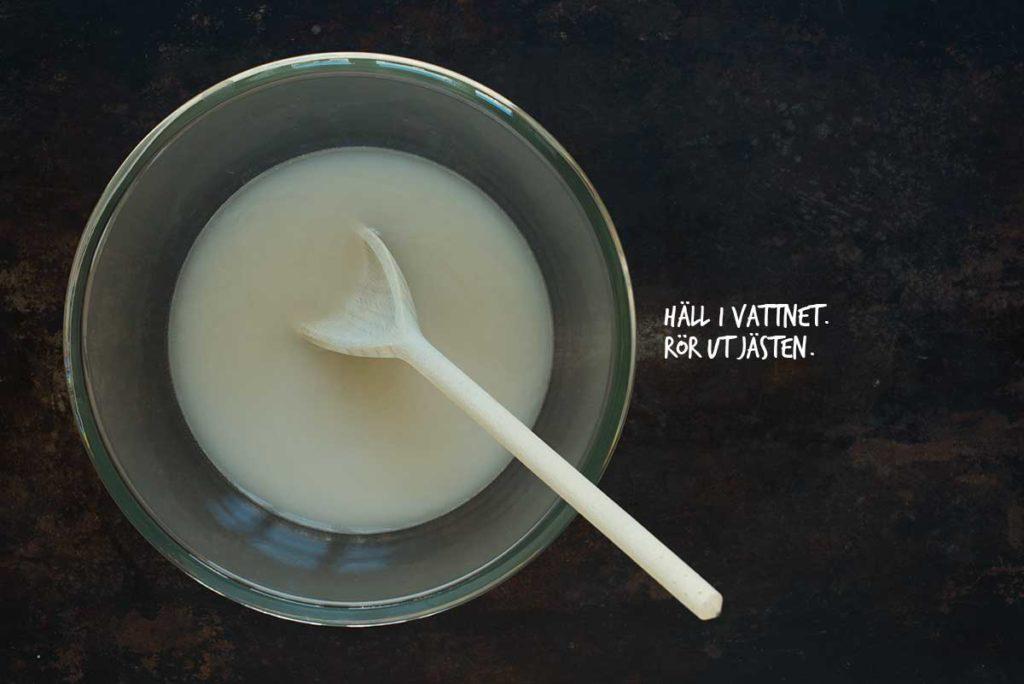 Recept: Kalljästa bullar | Frk. Kräsen