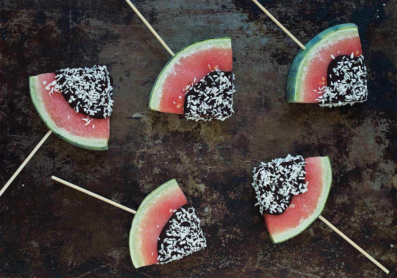 Recept: Glasspinnar med vattenmelon | Frk. Kräsen