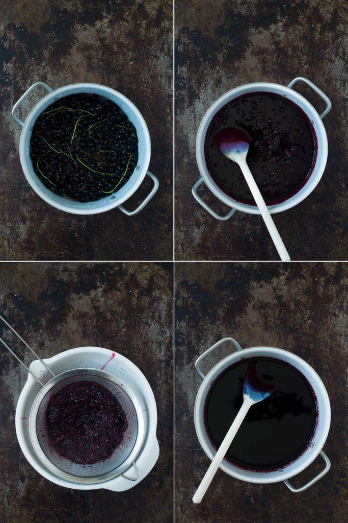 Recept: Svart vinbärssaft | Frk. Kräsen