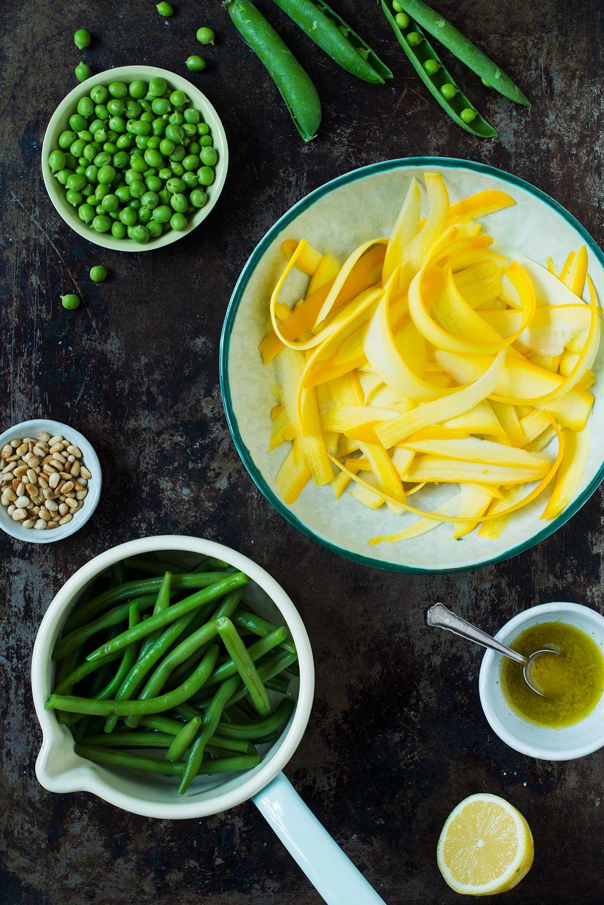 Recept: Sallad med bönor och squash | Frk. Kräsen