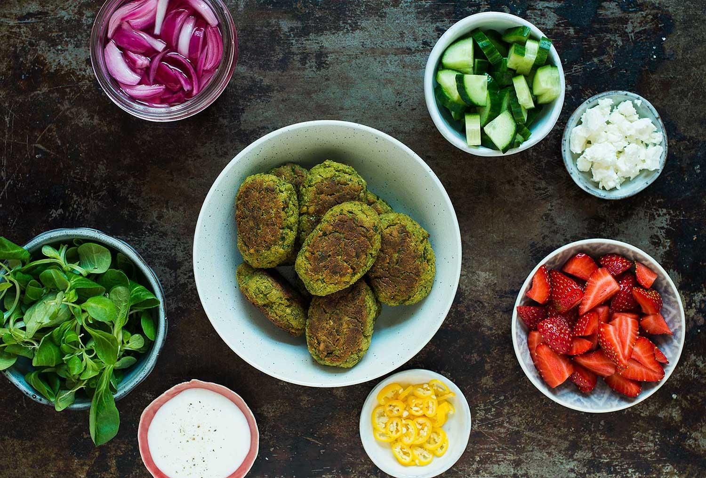 Recept: Falafel med ärtor och citron | Frk. Kräsen