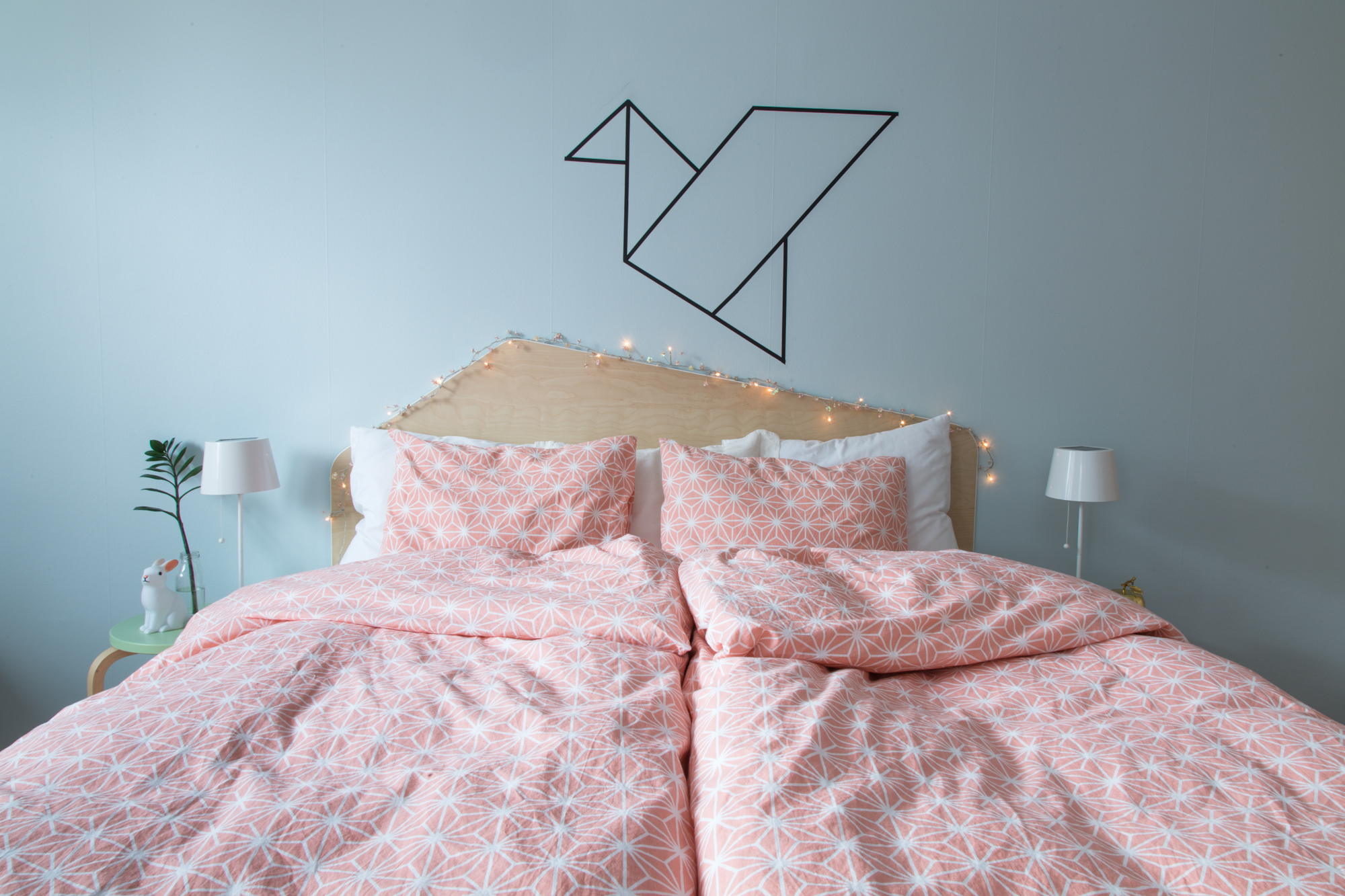 DIY Headboard - Dnilva