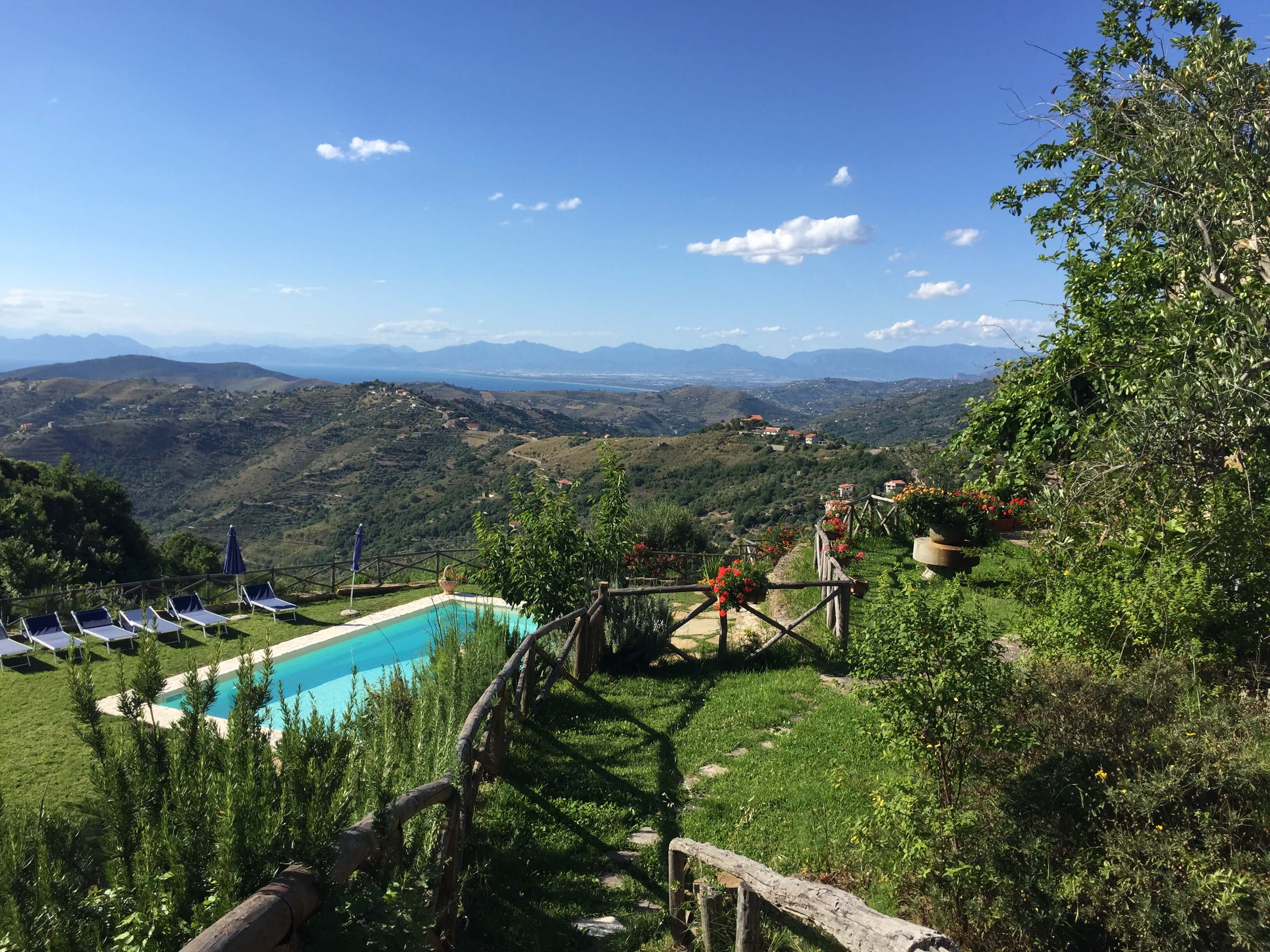 View from Villa Trotta