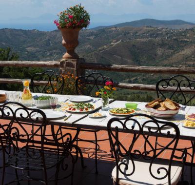 Villa Trotta – breakfast with a view